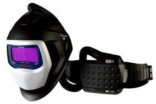 3M Speedglas Welding Helmet 9100 Air with filter 9100X and 3M Adflo PAPR