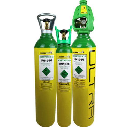 Hobbyweld 15 Welding Gas (83% Argon, 15% Carbon Dioxide, 2% Oxygen)