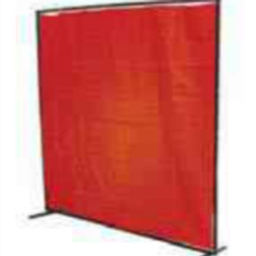 Orange Vinyl Welding Curtain