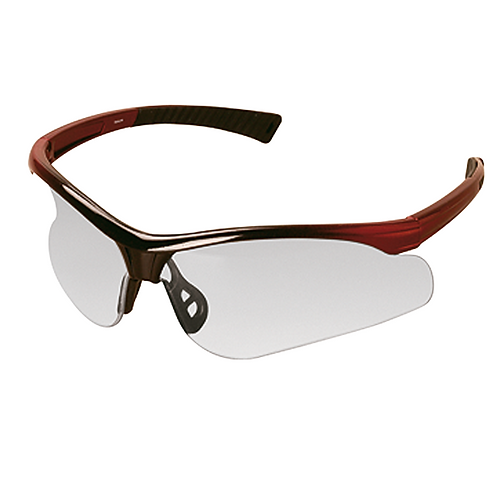Black and Red Frame Sports Glasses