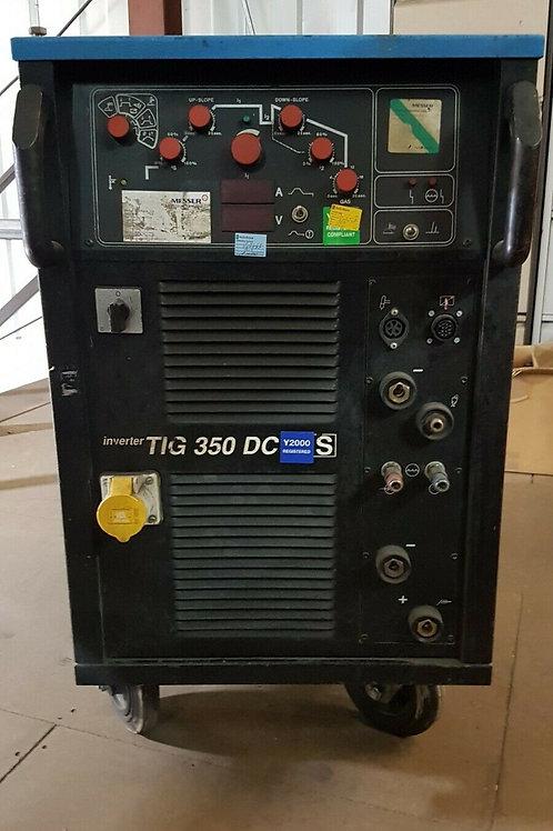 EWM Messer Griesheim Water Cooled Inverter TIG 350 DC Welder - Used