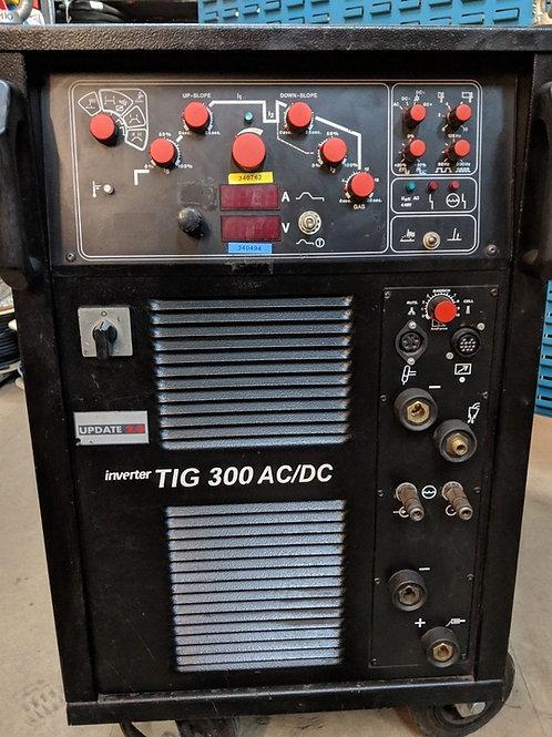 EWM Messer Griesheim Inverter TIG 300 AC/DC TIG Welder - Used
