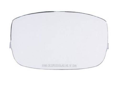 Speedglas 9000 Outer Protection Plate / Lens - 10 Pack