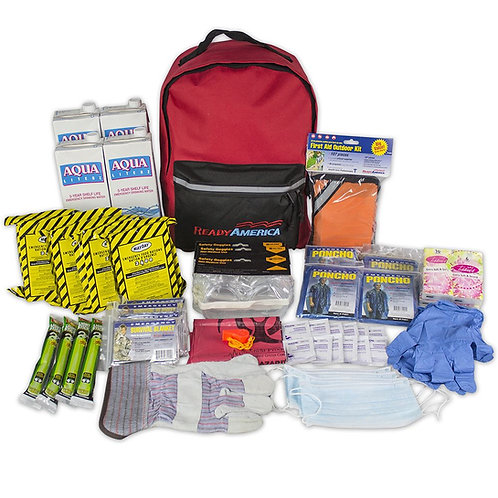 Grab N Go - Four Person Emergency Backpack 3 Days