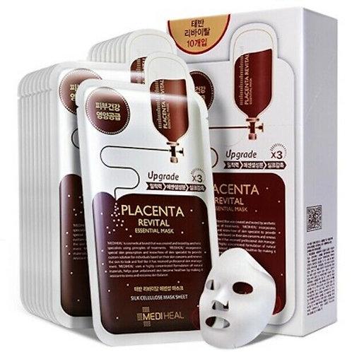 Mediheal - Placenta Revital Mask Essential Mask (10 pcs)