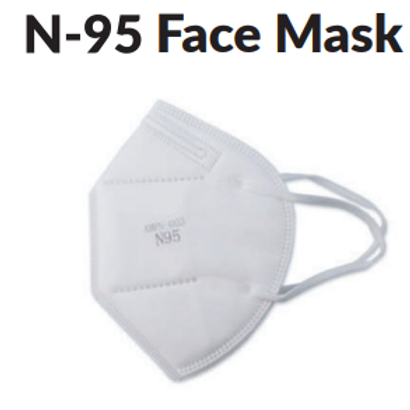 N-95 Mask (Without Valve) Non-Medical Device