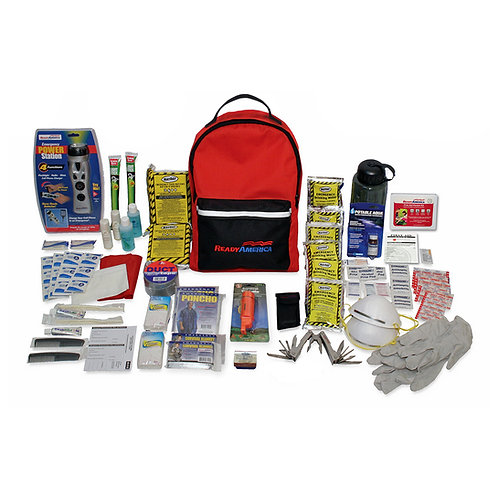 Grab N Go - Two Person Deluxe Emergency Backpack