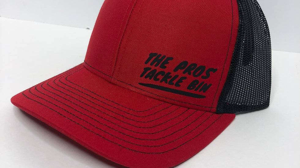 The Pros' Tackle Bin Logo Hat