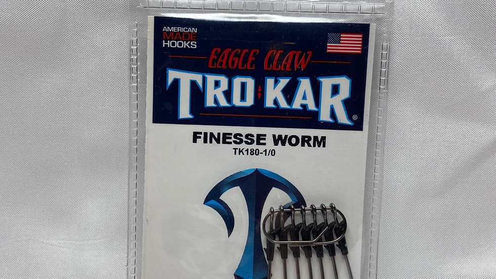 Eagle Claw TRO KAR Finesse Worm Hook