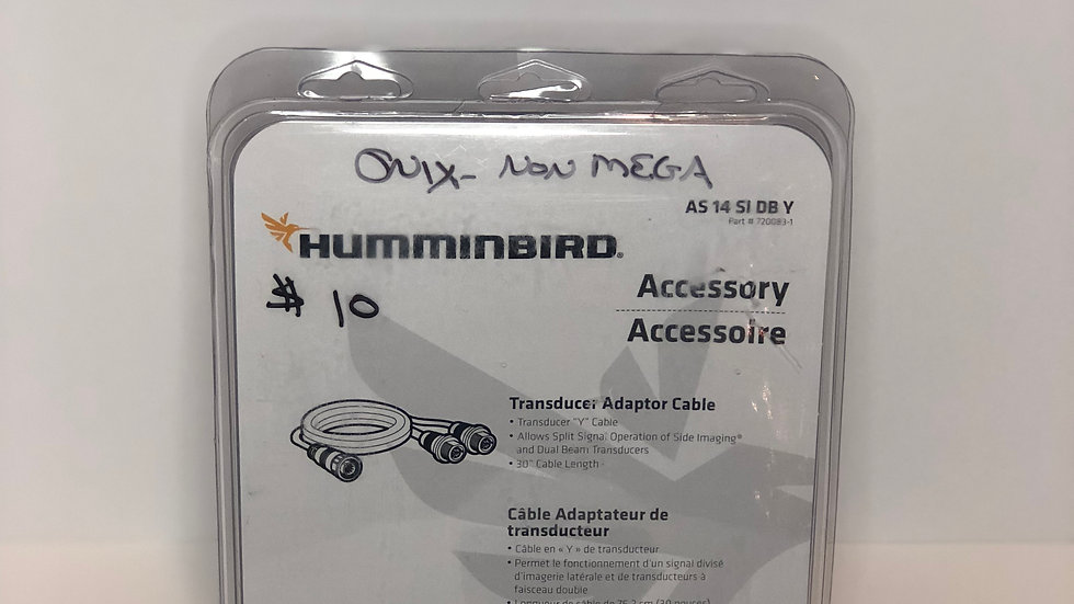 Humminbird Onix Transducer Adaptor Cable
