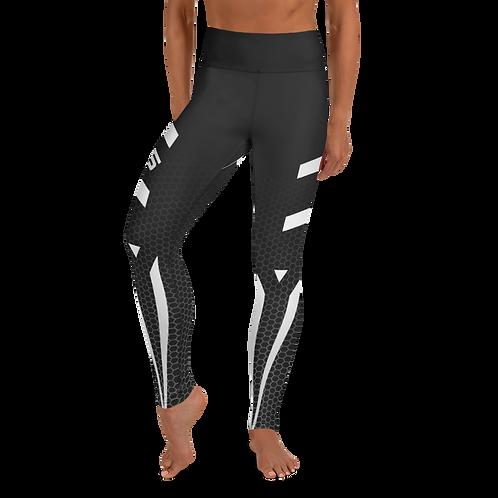 Firestorm Galaxy Genesis Yoga Leggings Unit 05 - Black