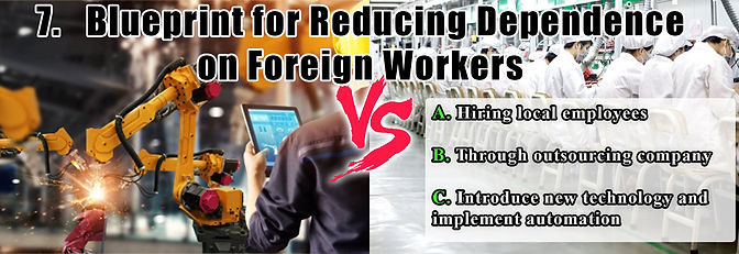 Blueprint for reducing dependence on for