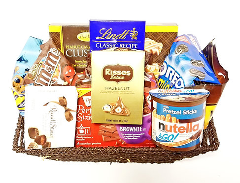 Chocolate Lover's Basket-Large