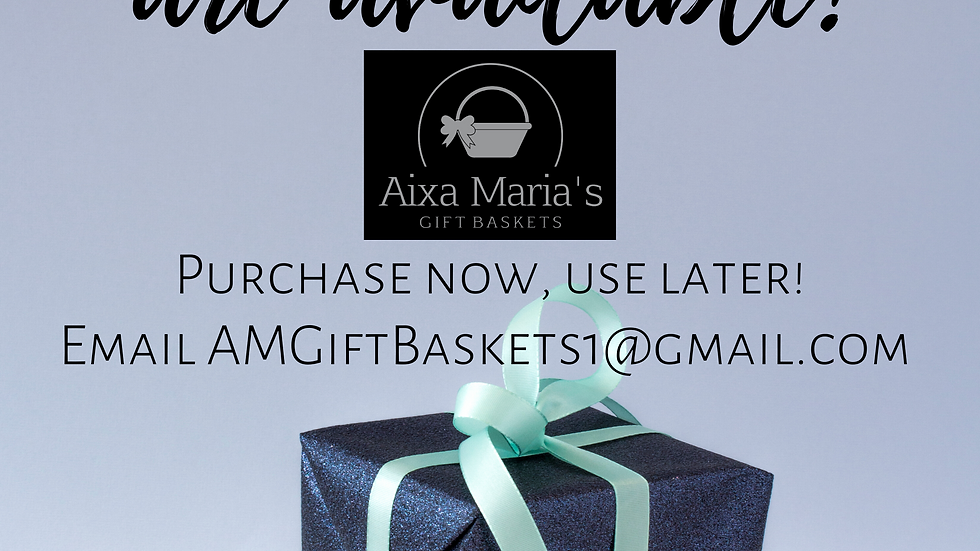 Gift Card - Starting at $25