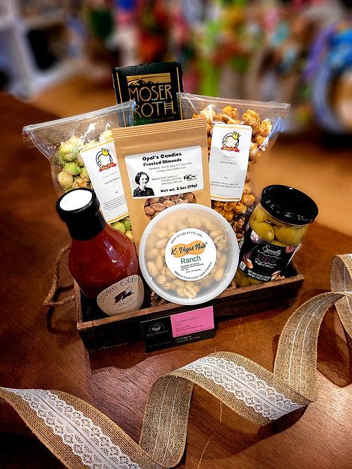 Local Goodies Mix Gift Basket -medium