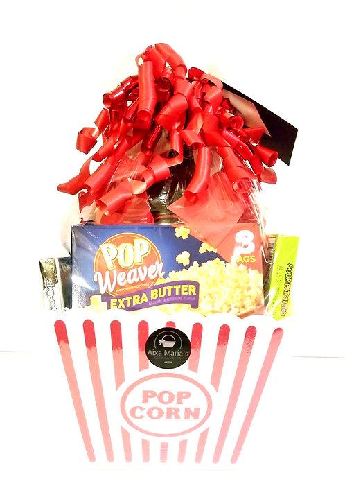 Movie Night Gift Bucket