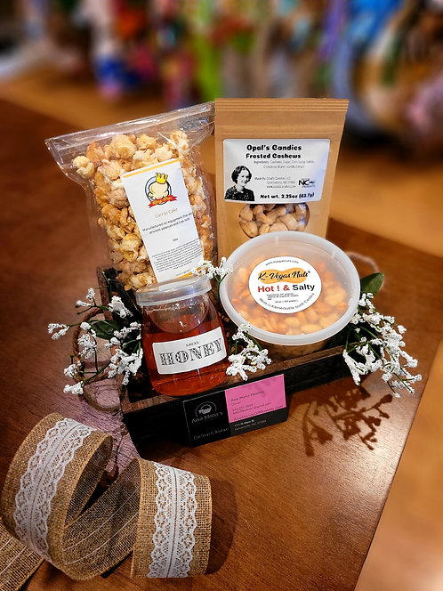 Local Goodies Gift Basket- Small