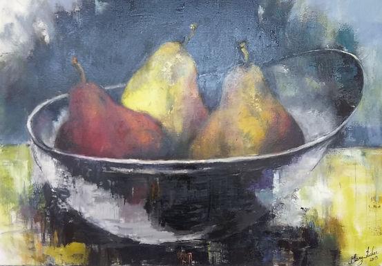 Pears 48X36 Oil on Canvas  copy.jpeg