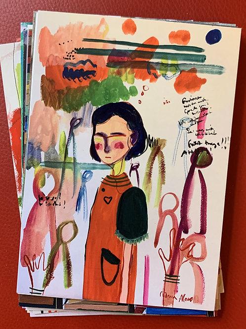 postkarte, emotions