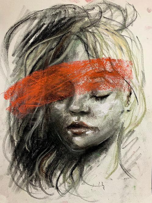 Pastels drawing PRINT