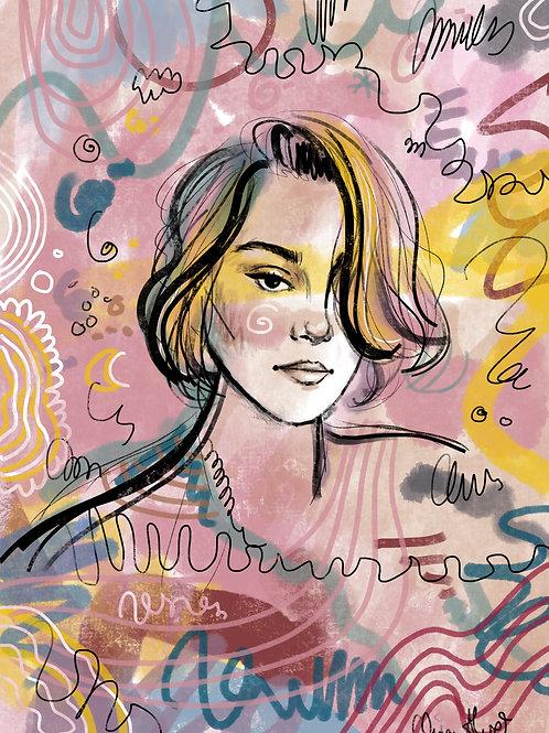 individual commission portrait