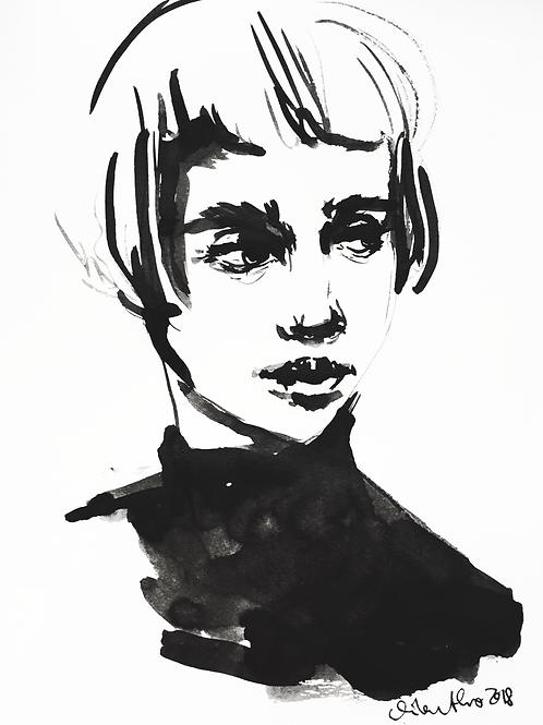 Watercolor Drawing PRINT