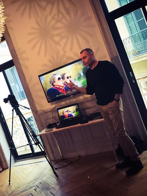 Jean-Pierre, l'oeil expert au service de la photographie et de la video.