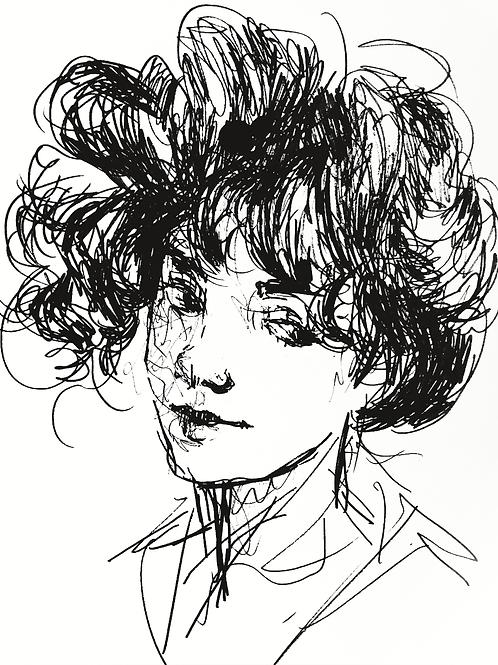 Ink Drawing PRINT