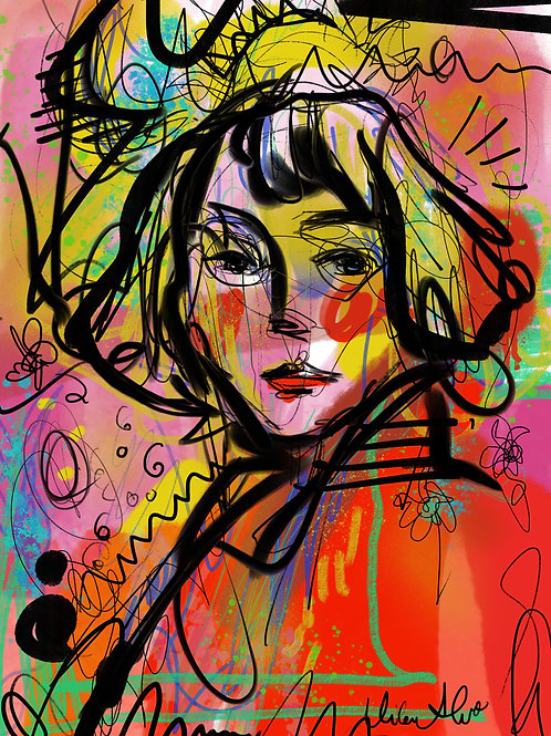 digital drawing ORIGINAL PRINT