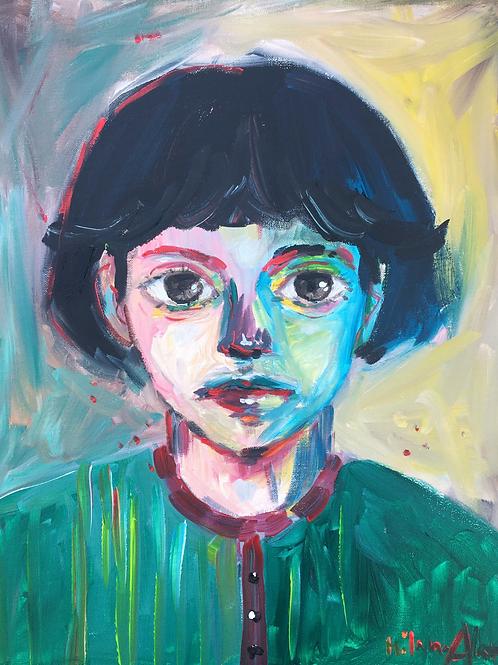 Acrylic Painting PRINT