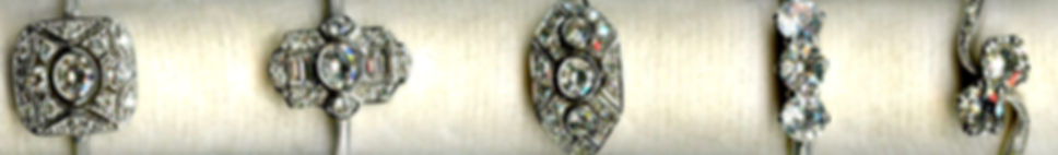 Beautiful Range of Vintage Diamond Rings