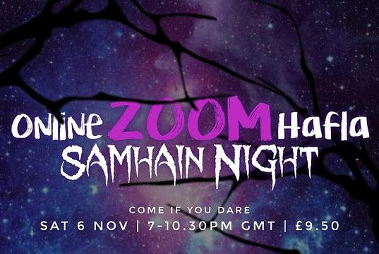 Online Zoom Hafla 6th Nov
