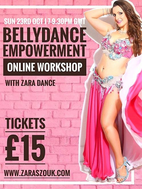 Bellydance Empowerment Workshop
