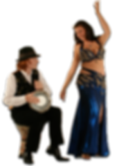 Book a bellydancer and drummer for your event