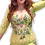 Thumbnail: LACE IN GREEN BRA AND DRESS SET UK SIZE 12/14