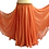 Thumbnail: CHIFFON SKIRT DOUBLE LAYER DOUBLE SPLIT - Clementine Shimmer