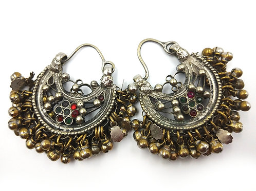 Kuchi filigree earrings