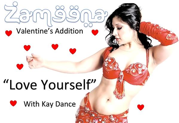 Zameena Free Bellydance Magazine by Zara's Zouk - Kay Dance Love yourself
