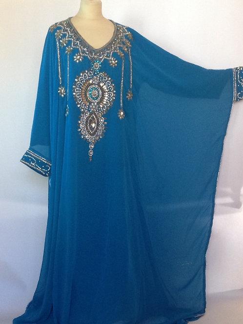 Arabic Dress - Red or Blue