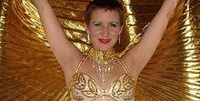 Belly dance props, isis wings, bellydance veils, belly dance sticks, belly dance malay leff, belly dance sagats, belly dance zill, egyptian riq, egyptian taborine,  bellydance  silk fan veils