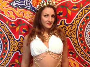 Make your own Greek Goddess Bellydance costume