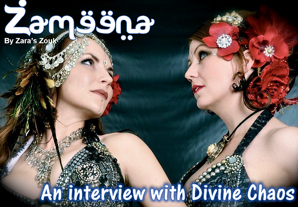 Zameena Free Bellydance Magazine by Zara's Zouk - Divine Chaos Fusion Bellydance