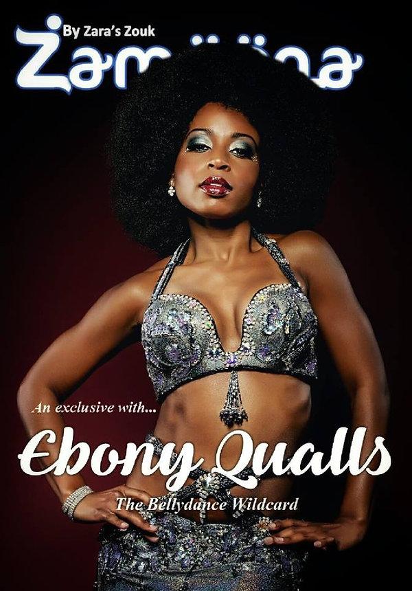 Ebony qualls interview bellydancer
