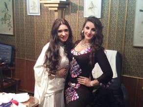 Dancing on Tahia's Stage for DINA