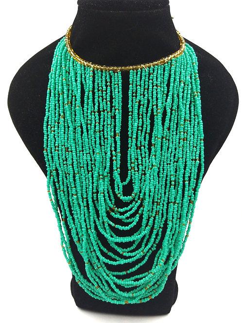 African Masai Bead Dream Necklace