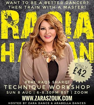 Raqia Hassan - Technique Workshop