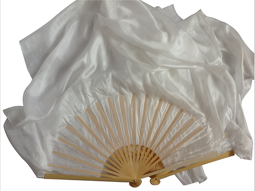 FAN VEILS WHITE 1.2M