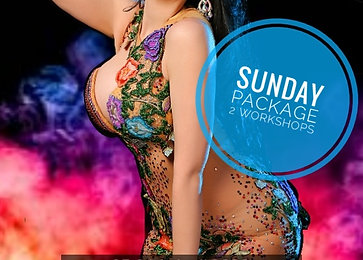 Sunday Pass: 2 Workshops + Saturday Hafla