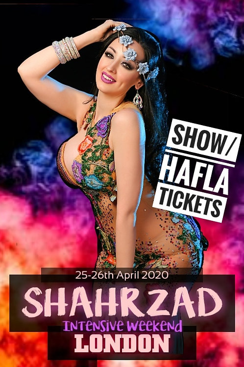 An Evening with  Shahrzad: Hafla/Show Tickets