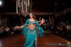 Zara Dance with Saidi stick dance